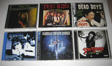 DEAD BOYS Stiv Bators (6) CD LOT * Live / ROUGH MIXES / Lords Of The New Church