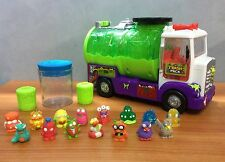 The Trash Pack Sewer Truck Play Set + 15 Trashies + 3 Trash Bins