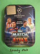 Topps Champions League 15 16 Limited Edition Pocket Tin Mini 20 Base Cards Messi
