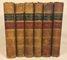 Critical Historical and Miscellaneous Essays 6 Vol Set 1864 by