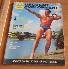 MUSCULAR DEVELOPMENT July 1965 Vintage Muscle Physique Magazine Beefcake Gay Int