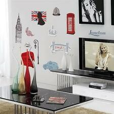 London Symbol Removable PVC Vinyl Wall Decal Stickers Art Mural Home Decor