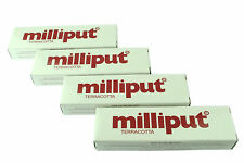 4 Packs Terracotta Milliput Epoxy Putty Modelling Filler Ceramic Repair X1016c