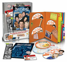 Scrubs: Complete TV Series Seasons 1 2 3 4 5 6 7 8 9 DVD Boxed Set NEW!