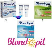 Blondépil Face & body bleaching cream/gel fast-acting solution for unwanted hair