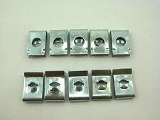 SCREW FASTNERS / U CLIPS / BODY CLIPS (10 PIECES) FOR CHINESE SCOOTERS, ATVS
