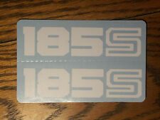 83 HONDA XL 185S SIDE COVER DECAL