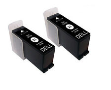 2 Non-OEM For Dell P513W P713W V313 V313W V515W V715W Black Ink Cartridge