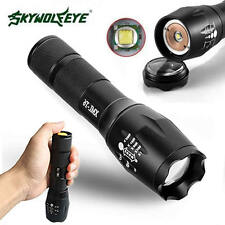 Zoomable 8000LM 5 Modes G700 XML T6 LED Flashlight Waterproof 18650 Torch Lamp