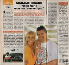 Coupure de presse Clipping 1993 Claudia & Jean Marie Bigard  (1 page 1/2)