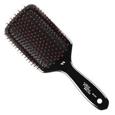 Spornette Salon Nylon Ball Tipped Large Wooden Paddle Cushioned Hair Brush 5161
