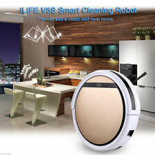ILIFE V5S Smart Robot Vacuum Floor Cleaner Automatic Microfiber Dry/Wet Cleaning