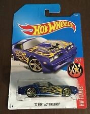 HOTWHEELS 5/10 77 PONTIAC FIREBIRD HW FLAMES 13/365 CLASSIC HOT WHEELS