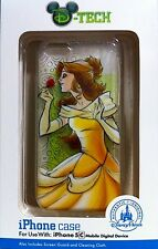 Disney Parks D-Tech BELLE iPhone 5C Phone Case Cover NEW IN BOX