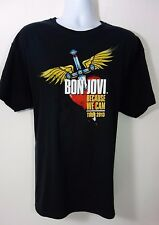 Bon Jovi 2013 Because We Can Tour Black T-Shirt Size XL