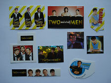 Two And A Half Men ADESIVI _/STAR carte _ collection _ Charlie Sheen