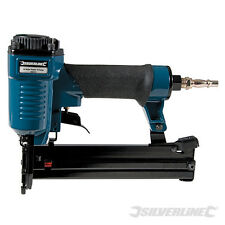 Silverline Air Nailer Cucitrice 32 mm 18 Gauge Tappezzeria Trim Craft 269131