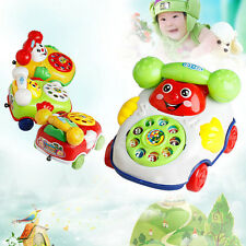 Kids Children Baby Cartoon Music Phone Educational Developmental Toy Gift New