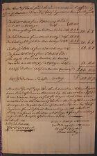 John Hancock Autograph Document Signed (PSA/DNA Authentic)