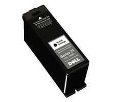 GENUINE Original DELL Black Ink Cartridge Y498D Series 21 FOIL SEALED NEW