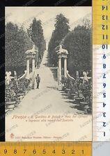 13509] FIRENZE - GIARDINO DI BOBOLI  - VIALE DEI CIPRESSI E VASCA ISOLOTTO