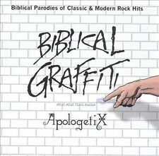 ApologetiX Biblical Graffiti CD Christian rock parodies of Monkees Metallica CCR