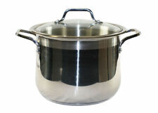 CONCORD 10 QT 18/10 Tri-Ply Stainless Steel Stock Pot Commercial Grade w/ Lid