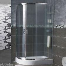 Box doccia in cristallo 6 mm scorrevole angolare semicircolare tondo OPACO 70x90