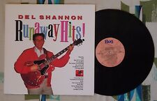 Del Shannon LP Runaway Hits! 1961-65 Little Town Flirt Hats Off To Larry VG++/M-