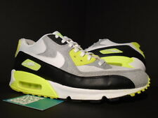 2011 Nike Air Max 90 BLACK WHITE COOL GREY VOLT NEON YELLOW LIME 325018-048 12