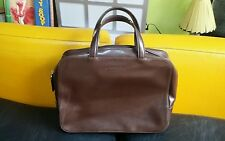 Ancien Sac à main vintage LANCEL CUIR MARRON