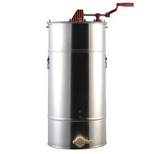 Goplus Large 2 Frame Stainless Steel Honey Extractor Beekeeping Equipment N
