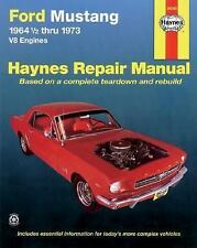 1964-1973 Ford Mustang Repair Manual 1972 1971 1970 1969 1968 1967 1966 65 3577