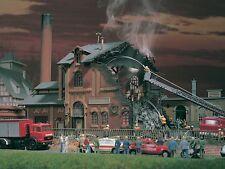Vollmer 45601 Brennende Fabrik mit Flackerlicht
