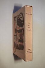 JOSEPH D'ARBAUD. LA BÊTE DU VACCARES. 27 LITHOGRAPHIES COULEUR DE GUERRIER. 1958