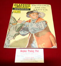 Classic Illustrated #29 The Prince & the Pauper HRN 169 (Summer 1970)