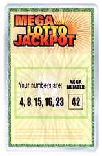 LOST SERIES MEGA LOTTO JACKPOT FRIDGE MAGNET IMAN NEVERA