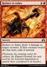 Reduce to Ashes NM X4 Shadows Over Innistrad MTG Red Common
