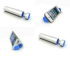 Portable Battery 4000 mAh Rogonic Plus Power Bank Battery Charger + Speaker Blue