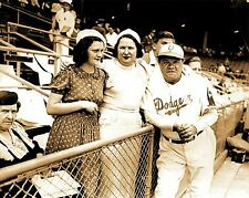 NEW YORK YANKEES BABE RUTH WITH THE BROOKLYN DODGERS