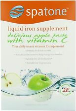 Nelsons Spatone Natural Iron Supplement Apple Vitamin C 28 day