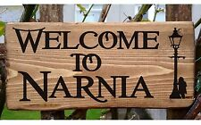 Personalised Lion Witch and the Wardrobe Chronicles of Narnia Plate Plaque Signs