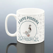 I LOVE PIGEONS RACING PIGEON FANCIER MUG Birthday Gift Present Dad Grandad