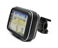 "5.8"" Waterproof Motorcycle Bike Zipper Bag Case with Mount Holder for GPS Series"