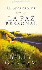 El secreto de la paz personal (Spanish Edition) by Billy Graham (Paperback) NEW