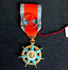 médaille ORDRE du MÉRITE SOCIAL - grade d'OFFICIER- neuve, en boîte d'origine
