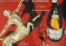 Publicité Advertising 1963 (Double page)  REMY MARTIN Cognac