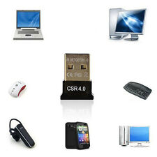 Mini USB Bluetooth V4.0 Dongle Dual Mode Wireless Adapter For Laptop PC