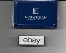 NCL NORWEGIAN CRUISE LINE PLAYING CARDS SEALED 1990'S