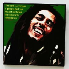 Bob Marley canvas quotes wall decals photo painting framed pop art poster